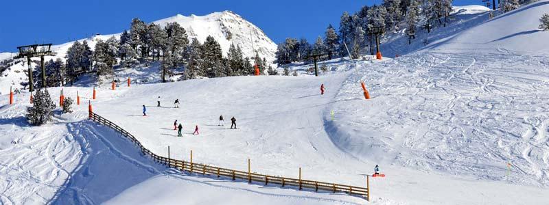 pista de esquí baqueira beret