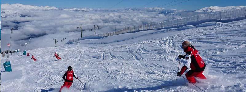 estacion de esquí Masella